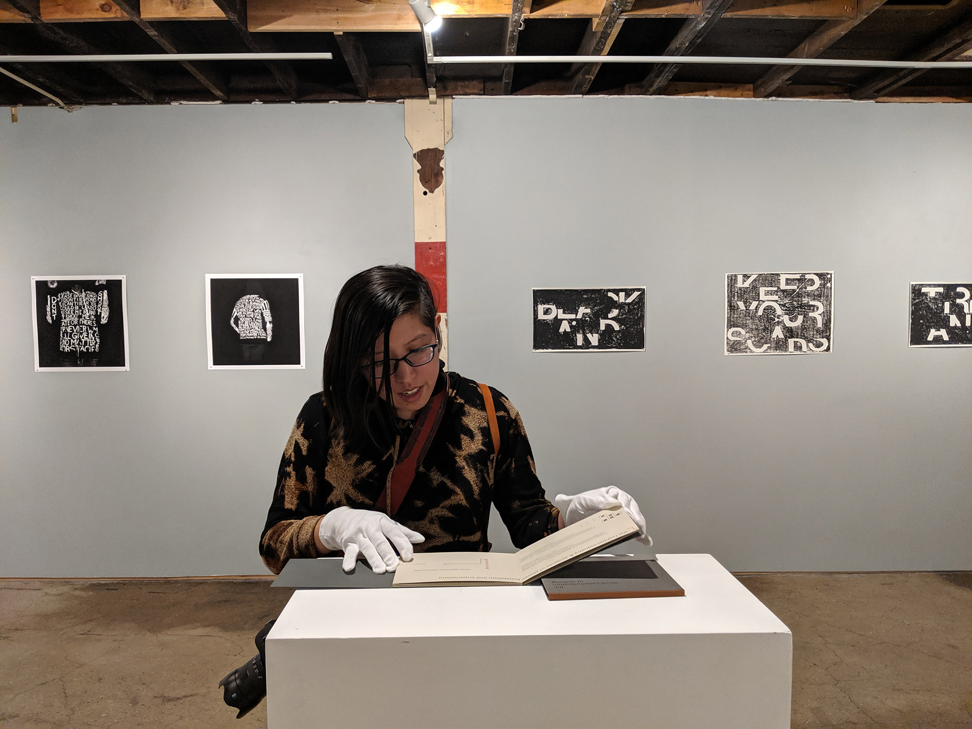 Verse Us Language and Power Artist Tuesday Smillie Curator Jenie Gao