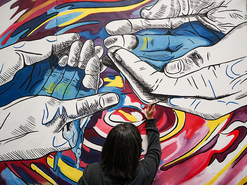 Mural Art About Rejuvenation