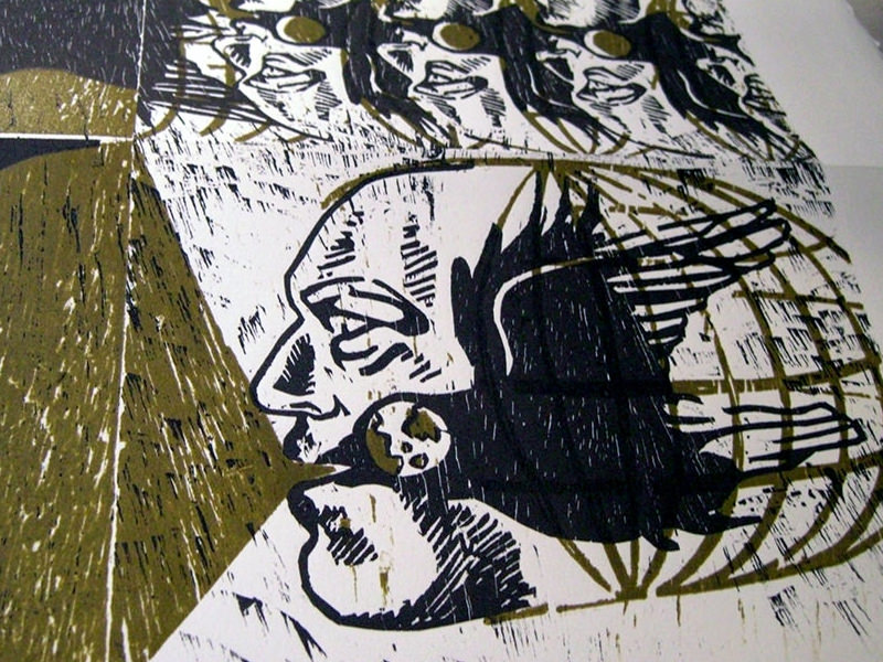 Woodcut Prints About The Pursuit Of Purpose